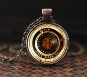 Vintage Camera Lenses Pendant, Photography Jewellery, Gift For Photographer, Camera Pendant, men's necklace, NOT REAL camera,
