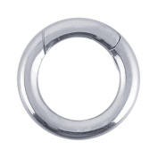 Sterling Silver Circle Hinged Clasp