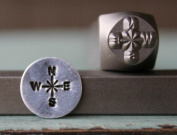 Brand New Supply Guy 8mm Compass Metal Punch Design Stamp CH-122