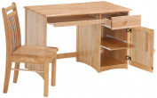 Night & Day Clove Student Desk and Chair Natural