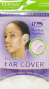 Annie Plastic Ear Cover 12 Pcs One Size Fits Most #4447