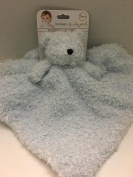Blankets & Beyond Fuzzy Blue Bear Security Blanket