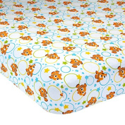 Disney Baby Finding Nemo Fitted Crib Sheet - A Day at The Sea