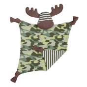 Organic Farm Buddies Marshall Moose Blankie