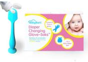 Blue BabyBum Brush & Nappy Changing Glove-Saks