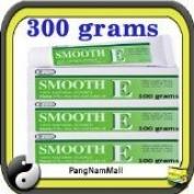 New Smooth E Cream Anti Ageing Wrinkles Vitamin E Aloe Vera Scars Acne Spot Mark (100 G.x3) Made in Thailand