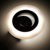 Kocome LED Human Body Motion Sensor Night Light Induction Lamp Battery Operated