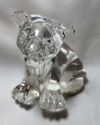 Waterford Crystal Collectible Lion Cub Figurine, Sculpture
