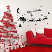 Wall sticker,SMTSMT Christmas Decoration Decal Window Stickers