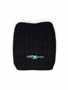 Memory Foam Ventilative Mesh Lumbar Support Back Cushion - Alleviates Lower Back Pain