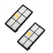Beudvo 2pc Filters for Irobot Roomba 800 870 880 Series Vacuum Cleaner