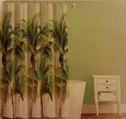 Palm Tree Peva Shower Curtain