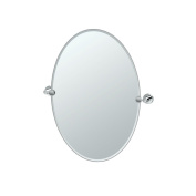 Gatco 4639 Glam Oval Mirror, Chrome