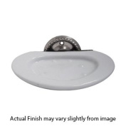 English Rope - Wall Soap Dish Holder - Satin Nickel -