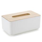XHSP Creative Desktop Oak Wood Tissue Box Holder Cover Napkin Storage Case Organisers for Home Office Car