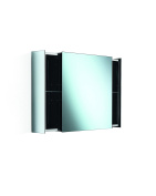 LB Pika Wall Mounted Medicine Cabinet with Mirror & Sliding Drawers - 60cm