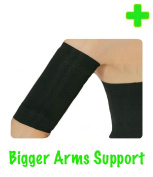 HealthyNees (X-Large) Bigger Arms Compression Slimming Improve Toning Circulation Massage Shaper Sleeve