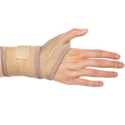 Carpal Tunnel & Arthritis Compression Wrist Wrap - One Size Fits Either Hand