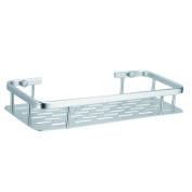 BOEN 30cm Aluminium Bathroom Shelf Wall Mounted, Silver Sand-Sprayed,A1103
