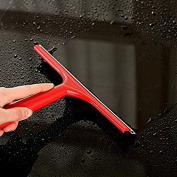 Teanfa Practical Silicone Blade Squeegee for Shower, Window, Car Glass and Windshield, Random Colour