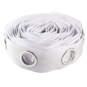 10m Roll Round Eyelet Ring Sewing Tape For Curtain Blinds Drapery Low Noise