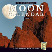 The Old Farmer's Almanac 2018 Moon Calendar