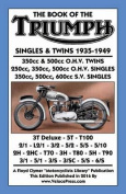 Book of the Triumph Singles & Twins 1935-1949