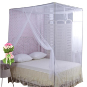 Dormitory Mosquito Net,Elevin(TM) Encryption Nets 1.8 m Square Bed Student Dormitory Mosquito Nets Party