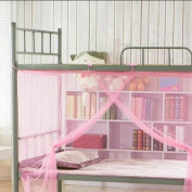 Dormitory Mosquito Net,Elevin(TM) Encryption Nets 1.2 m Square Bed Student Dormitory Mosquito Nets Party