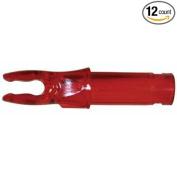Easton X Nocks (Bohning A) Ruby Red 12/Pkg