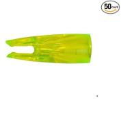 Bohning T Nocks Arrow Nocks 0.9cm Flo Green 50/Pkg