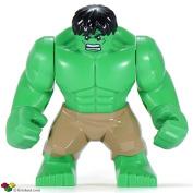 Lego Hulk compatible , Hulk minifigure for Lego sets