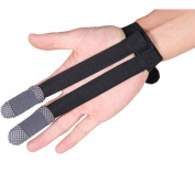 2Pcs Archery Protect Glove ,Shooting Glove 2 Fingers Design / 3 Fingers Design