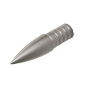Gold Tip Nine.3 Max 100 Grain ACCU Point (12 Pack), Silver, Large