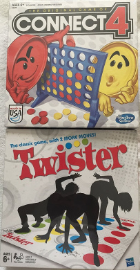 Bundle of 2 Games: Connect 4 ~ Twister