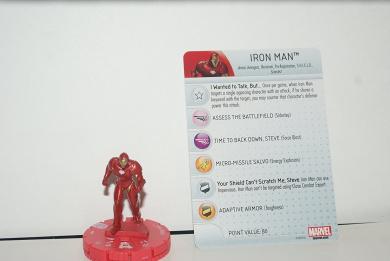 Marvel Heroclix - Civil War #002 Iron Man - Common
