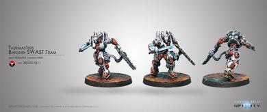 Nomads Taskmasters, Bakunin SWAST Team - HMG (CVB 280582-0611)