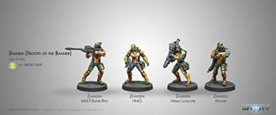 Infinity Yu Jing Zhanshi Troops of the Banner