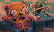 Adventure Time Attack on Titan Playmat