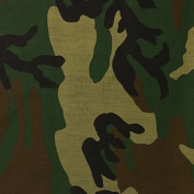 Camouflage Print Fabric Cotton Polyester Broadcloth Camo By The Yard 150cm inches Wide