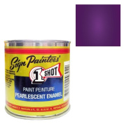 One Shot Pearlescent Purple Half Pint