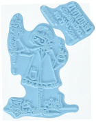 Stamping Bella Tiny Townie Sage The Scientist Cling Rubber Stamp, 17cm x 11cm