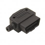 OBD2 16Pin Connector OBD Male Plug 90 Degrees Transfer OBD2 Adaptor Car Accessories Tool for Older cars