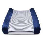 Circo™ Wipeable Changing Pad Cover - Navy Stripe