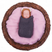 Sunmig Newborn Baby Wool Fluff Photo Props Merino Basket Stuffer Basket Filler Rug Photography Prop