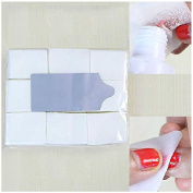 900Pcs Nail Art Wipes Cotton Lint Paper Pad Gel Clean Polish Cleaner Remover Tip