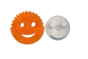 The Sponge Caddy with Suction Base for Kitchen Sink, White - Does NOT Include Sponge. This product is not affiliated with or licenced by Scrub Daddy, Inc.