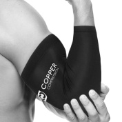 Copper Compression Recovery Elbow Sleeve, Large