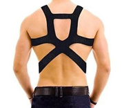 Dr. Wilson's Posture-Support Back Brace with Breathable Straps
