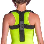 BraceAbility Posture Corrector Upper Back & Shoulder Support--L
